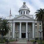 Old Polk County Courthouse in Bartow Florida