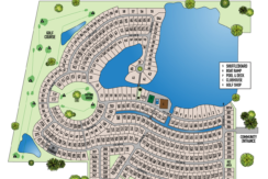 Anglers Green Map
